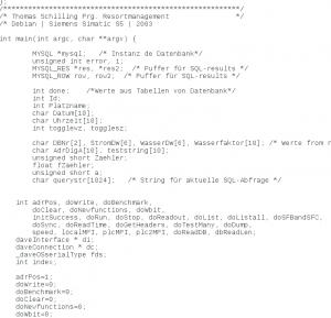 Programmierung in C