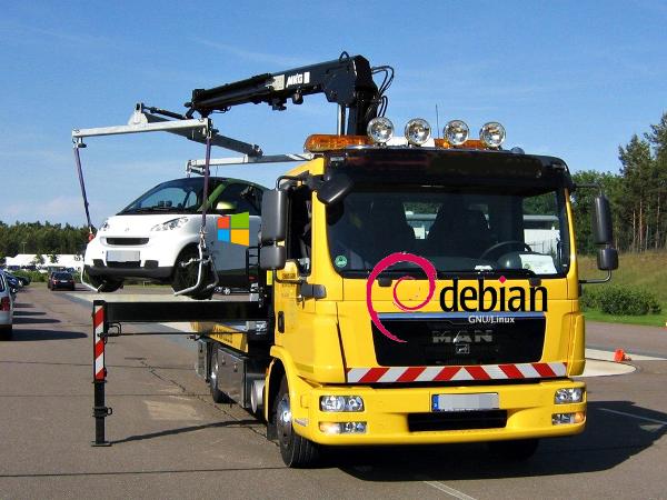 HyperV Debian