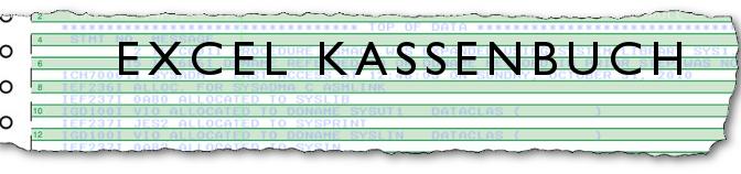 Das Kassenbuch